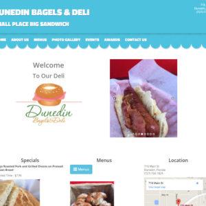 Dunedin Bagel Website