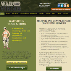 War Virgin Website